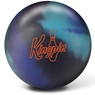 Brunswick Kingpin Bowling Ball- Black/Blue/Purple