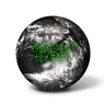 900 Global Shadow Ops Bowling Ball- Black Solid/Silver Pearl