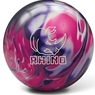 Brunswick Rhino Reactive PRE-DRILLED Bowling Ball- Purple/Pink/White Pearl