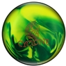 Ebonite Cyclone PRE-DRILLED Bowling Ball- Yellow/Green Pearl