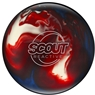 Columbia 300  Scout Reactive Bowling Ball- Red/White/Blue