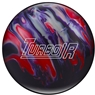 Ebonite Turbo/R Bowling Ball- Purple/Red/Silver
