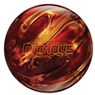 Columbia 300  Nitrous PRE-DRILLED Bowling Ball- Red/Gold