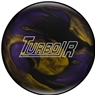 Ebonite Turbo/R PRE-DRILLED Bowling Ball- Black/Purple/Gold