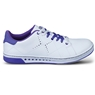 KR Strikeforce Womens Gem Bowling Shoes- White/Purple