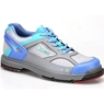 Dexter Womens SST The 9 Bowling Shoes- Grey/Periwinkle/Aqua