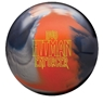 DV8 Hitman Enforcer Bowling Ball- Navy/Orange/Silver
