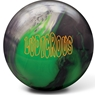 Radical Ludicrous Bowling Ball- Black/Green/Silver