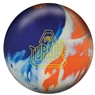 DV8 Turmoil Solid PRE-DRILLED Bowling Ball- Blue/White/Orange