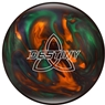 Ebonite Destiny Pearl PRE-DRILLED Bowling Ball- Green/Orange/Smoke