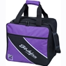 KR Fast Single Tote Bowling Bag- Purple