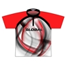 900 Global Dye-Sublimated Jersey - Red/White/Black
