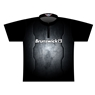 Brunswick Dye-Sublimated Jersey - Black/Silver