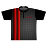Brunswick Dye-Sublimated Jersey - Black/Red/Gray
