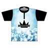 Brunswick Dye-Sublimated Jersey - Light Blue/White/Black