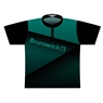 Brunswick Dye-Sublimated Jersey - Green/Black