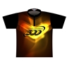 Columbia 300 Dye-Sublimated Jersey - Black/Yellow/Orange