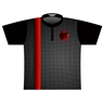 DV8 Dye-Sublimated Jersey -Black/Grey/Red