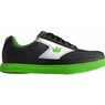 Brunswick Youth Renegade Bowling Shoes- Black/Neon Green
