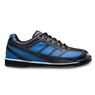 Brunswick Mens Phantom Bowling Shoes Left Hand- Black/Royal