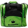 Brunswick Edge Single Tote Bowling Bag- Lime