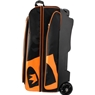 Brunswick Blitz Triple Roller Bowling Bag- Black/Orange