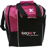Moxy Strike Single Tote Bowling Bag- Pink/Black