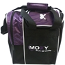 Moxy Strike Single Tote Bowling Bag- Purple/Black
