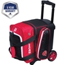 Ebonite Eclipse Single Roller Bowling Bag-Red