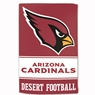 "Arizona Cardinals Sublimated Cotton Towel- 16"" x 25"""
