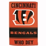 "Cincinnatti Bengals Sublimated Cotton Towel - 16"" x 25"""