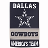 "Dallas Cowboys Sublimated Cotton Towel - 16"" x 25"""