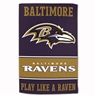 "Baltimore Ravens Sublimated Cotton Towel- 16"" x 25"""