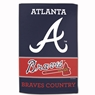 "Atlanta Braves Sublimated Cotton Towel- 16"" x 25"""