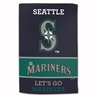 "Seattle Mariners Sublimated Cotton Towel- 16"" x 25"""