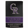 "Colorado Rockies Sublimated Cotton Towel- 16"" x 25"""