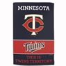 "Minnesota Twins Sublimated Cotton Towel- 16"" x 25"""