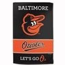 "Baltimore Orioles Sublimated Cotton Towel- 16"" x 25"""