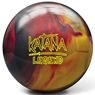 Radical Katana Legend Bowling Ball- Black/Red/Gold