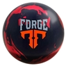 Motiv Forge Bowling Ball- Red/Black Solid