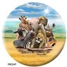 Howard Robinson- African Animals Bowling Ball
