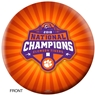 Clemson Tigers 2018 National Champions Bowling Ball