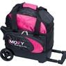 Moxy Duckpin Deluxe Roller Bowling Bag- Pink/Black
