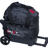Moxy Candlepin Deluxe Roller Bowling Bag- Black