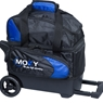 Moxy Candlepin Deluxe Roller Bowling Bag- Royal/Black