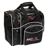 Moxy Duckpin Deluxe Tote Bowling Bag- Black