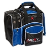 Moxy Duckpin Deluxe Tote Bowling Bag- Royal/Black