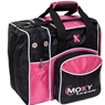 Moxy Duckpin Deluxe Tote Bowling Bag- Pink/Black