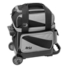 BSI Prestige Single Roller Bowling Bag- Black/Gray