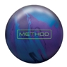Brunswick Method Solid Bowling Ball- Cosmic Blue/Purple/Black